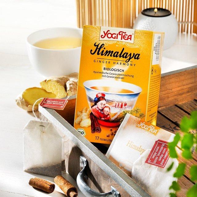 Schrader Yogi Tea® Himalaya Bio