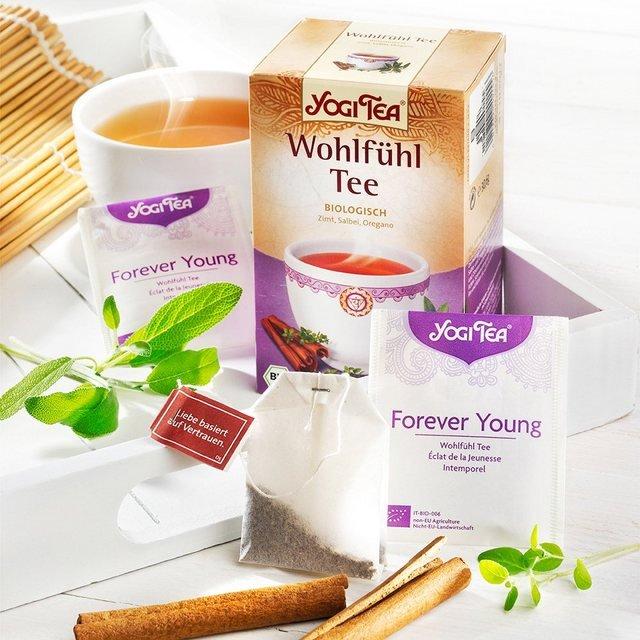 Schrader Yogi Tea® Wohlfühl Tee Bio