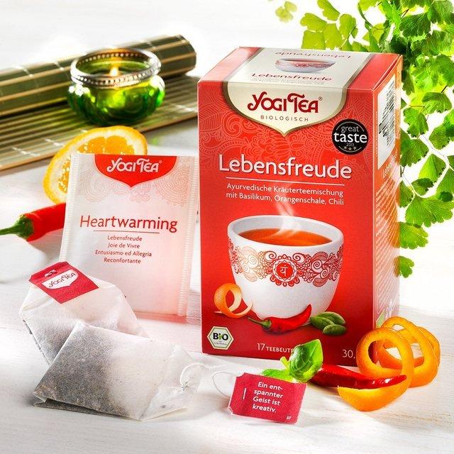 Schrader Yogi Tea® Lebensfreude Bio