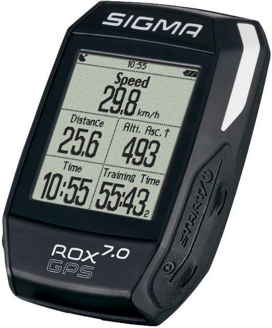 SIGMA SPORT Fahrradcomputer »ROX GPS 7.0«, kabellos