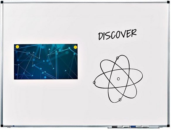 LEGAMASTER Whiteboard 7-P102048 lackiert, 100 x 75 cm »Premium«