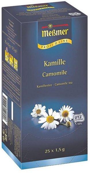 Meßmer Kamillentee Tassenportion, Aromakuvert, 25er-Pack »Profi Line«