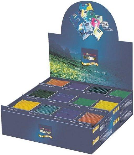 Meßmer Teebox Tassenportion, Aromakuvert, 180er-Pack »Profiline Tea Collection«