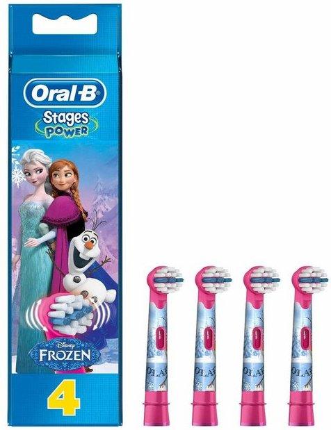 Oral B Aufsteckbürsten »Stages Power«, Die Eiskönigin für Kinderzahnbürsten