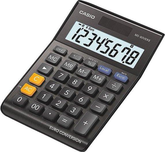 CASIO Tischrechner schwarz »MS-80VERII«