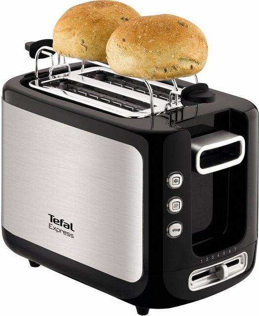 Tefal Toaster TT3650 Express, 2 kurze Schlitze, für 2 Scheiben, 850 W