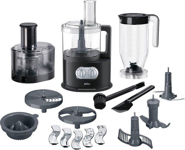 Braun Küchenmaschine FP 5160, 1000 W, 2 l Schüssel