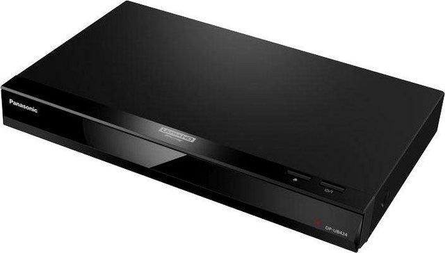 Panasonic »DP-UB424EG« Blu-ray-Player (4k Ultra HD, WLAN, LAN (Ethernet), 3D-fähig, Sprachsteuerung über externen Google Assistant oder Amazon Alexa)