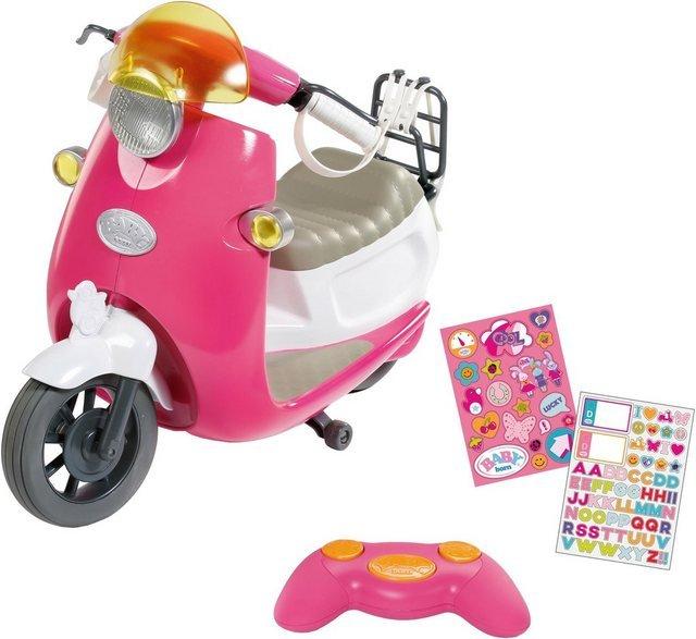 Baby Born Puppen Fahrzeug »BABY born® City RC Scooter«, zum Fernsteuern