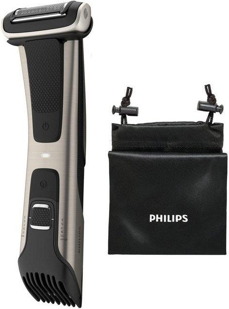 Philips Körperrasierer BG7025/15, mit integriertem 3 - 11 mm Kammaufsatz
