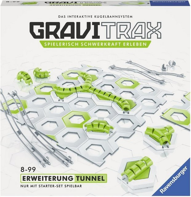 Ravensburger Kugelbahn »GraviTrax® Tunnel«, (Set)