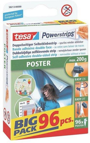 Tesa Powerstrips 58213 bis 200 g »Poster - Big Pack«