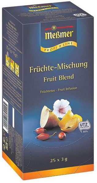 Meßmer Früchtetee Tassenportion, Aromakuvert, 25er-Pack »Profi Line«