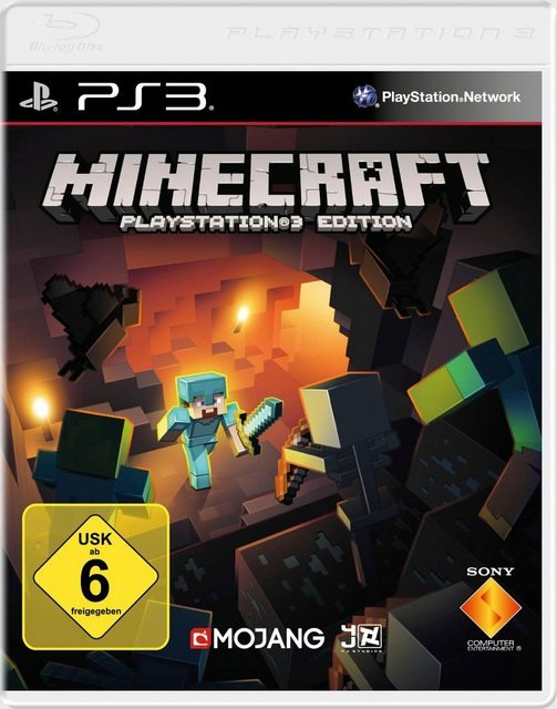 Minecraft PlayStation 3, Software Pyramide