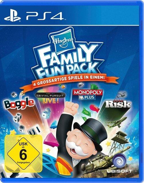Hasbro Family Fun Pack PlayStation 4, Software Pyramide