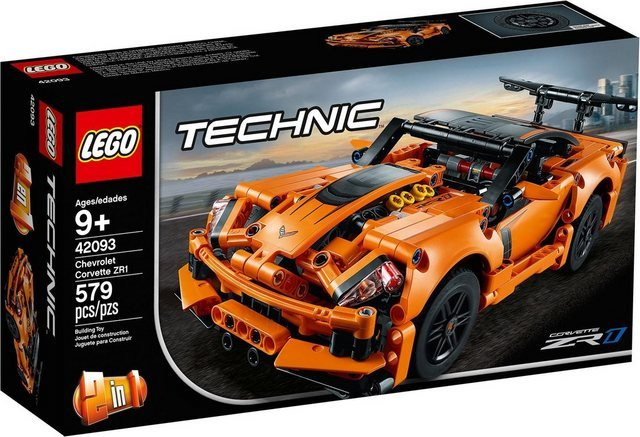LEGO® Konstruktionsspielsteine »Chevrolet Corvette ZR1 (42093), LEGO® Technic«, (579 St)