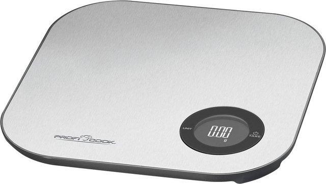 ProfiCook Küchenwaage »Bluetooth App-Küchenwaage PC-KW 1158 BT«