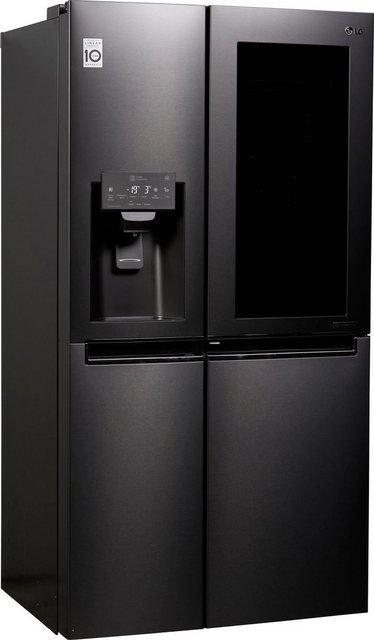 LG Side-by-Side GSX 961 MTAZ, 179 cm hoch, 91,2 cm breit, InstaView Door-in-Door™