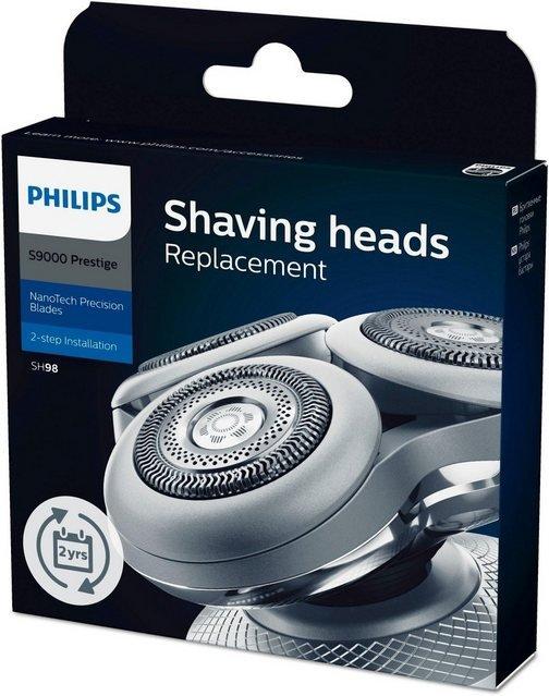 Philips Ersatzscherköpfe »SH98«, für Series 9000 Prestige