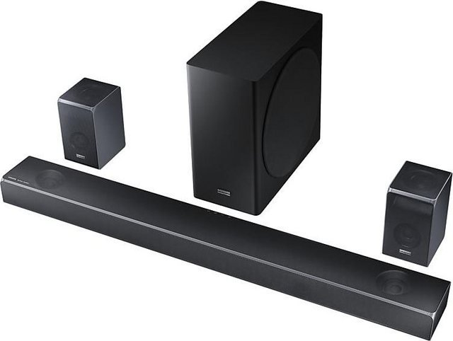 Samsung HW-Q90R 7.1.4 Soundbar (Bluetooth, WLAN (WiFi), 510 W)