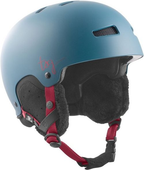 TSG Snowboardhelm »Lotus Solid Color«, abnehmbare Ear Pads und Nackenrolle