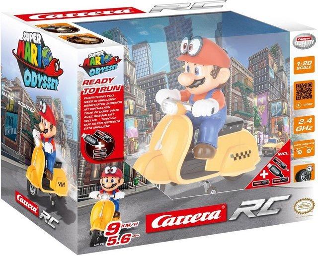 Carrera® RC-Auto »Carrera® RC - Super Mario Odyssey™ Scooter«, mit LED-Licht