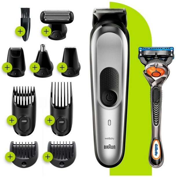 Braun Multifunktionstrimmer 10-in-1 Multi-Grooming-Kit 7 MGK7220