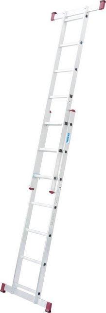 KRAUSE Leiterngerüst »Corda«, 2x7 Sprossen