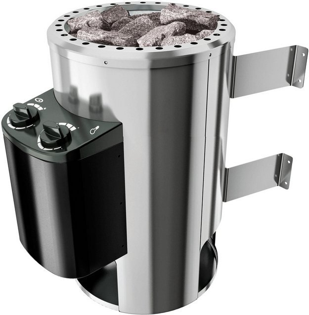 KARIBU Saunaofen »3,6 KW Plug&Play Ofen«, mit int. Steuerung