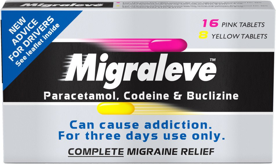 Migraleve Complete   16 Pink   8 Yellow Tablets