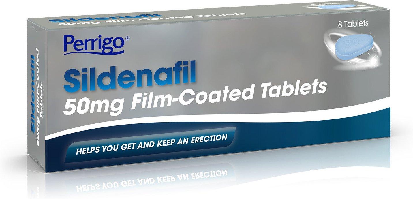 Sildenafil 50mg 8 Tablets