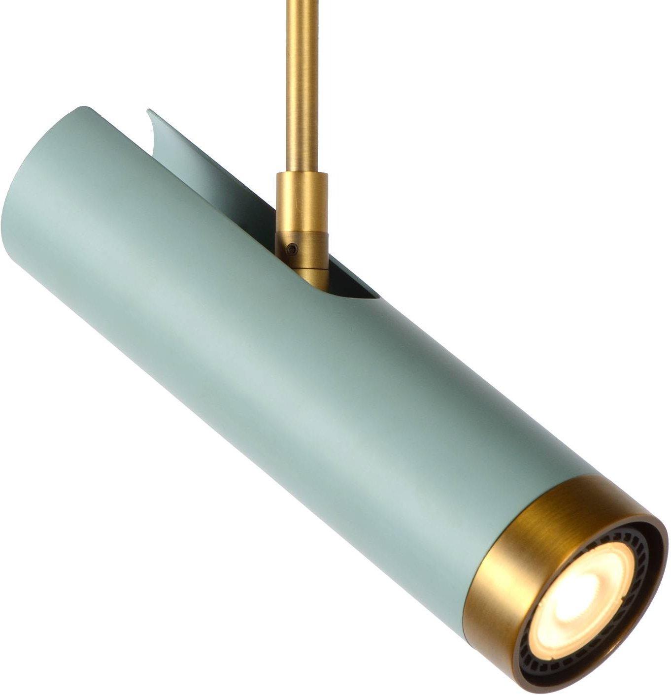 Selin hanging light rotatable tiltable  turquoise