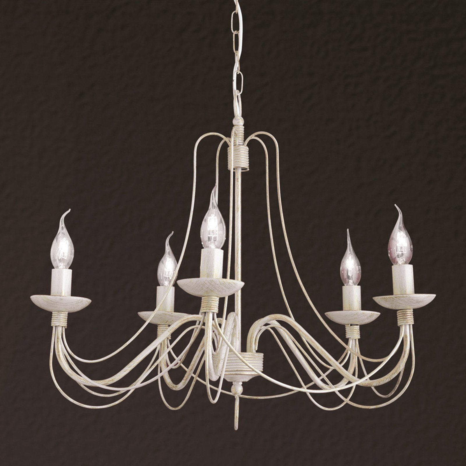 Pretty chandelier Antonina  5 light