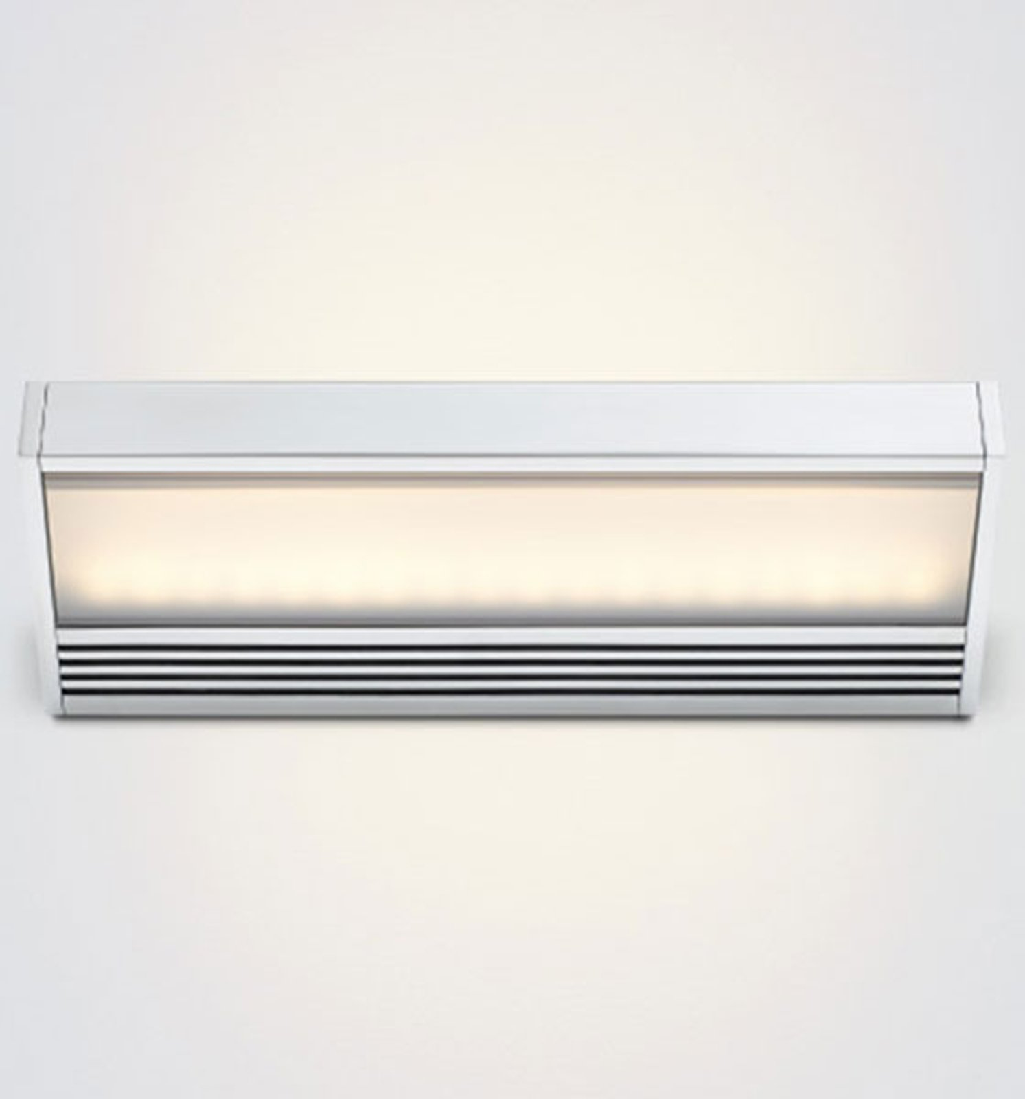 SML LED wall lamp made of polished aluminium