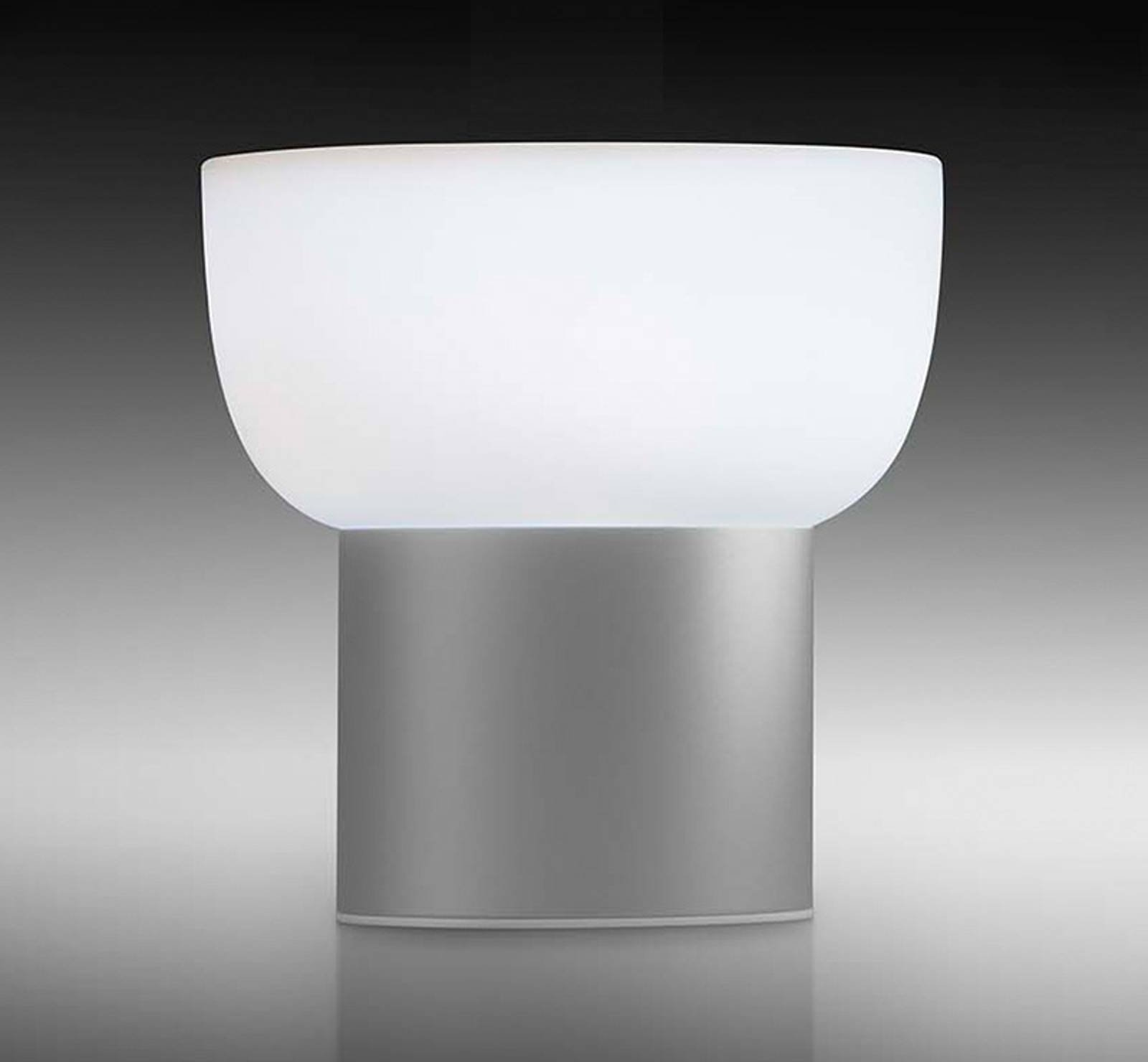 Patio LED decorative outdoor light  silver  16 cm