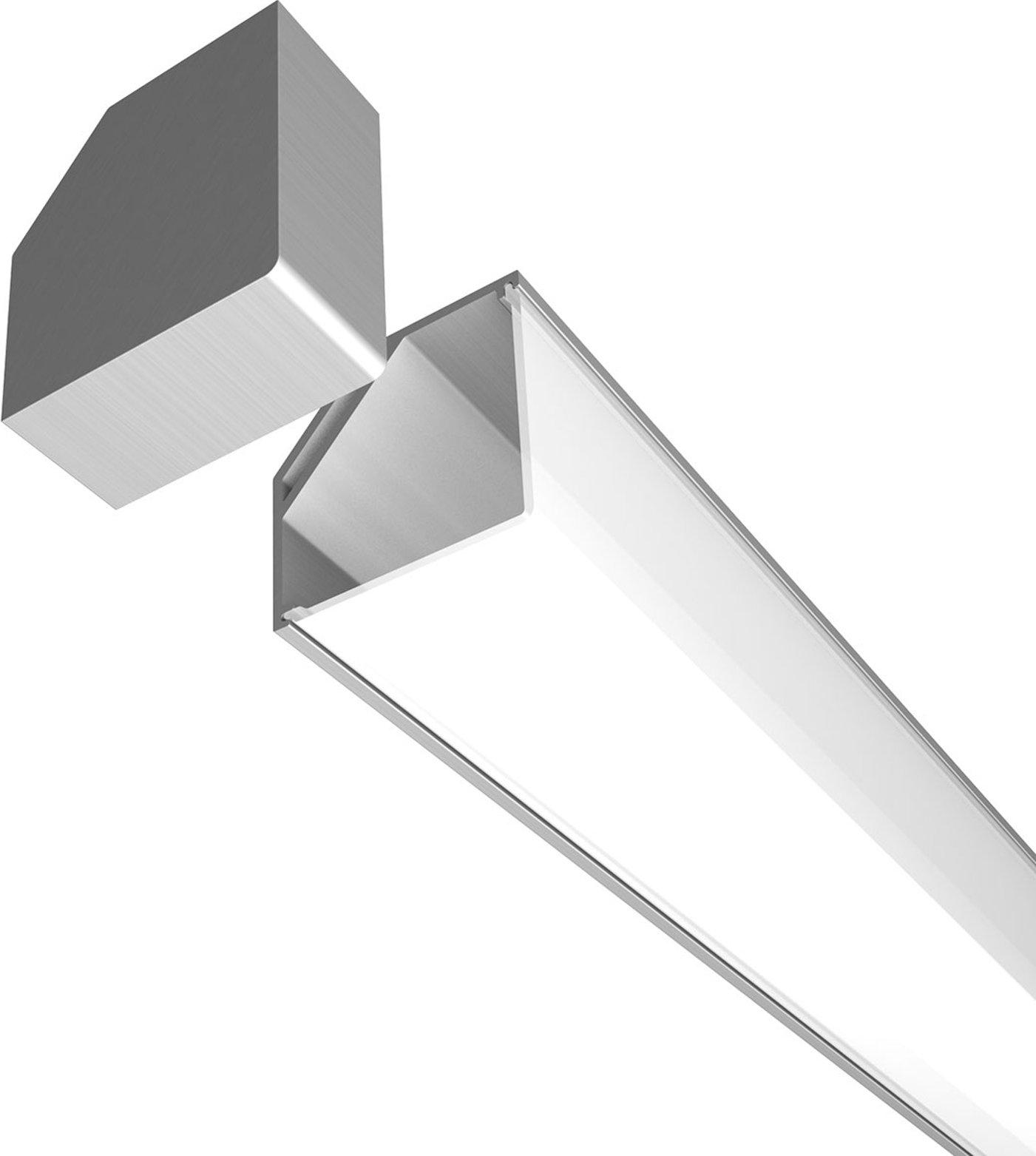 End cap for E45 aluminium corner profile