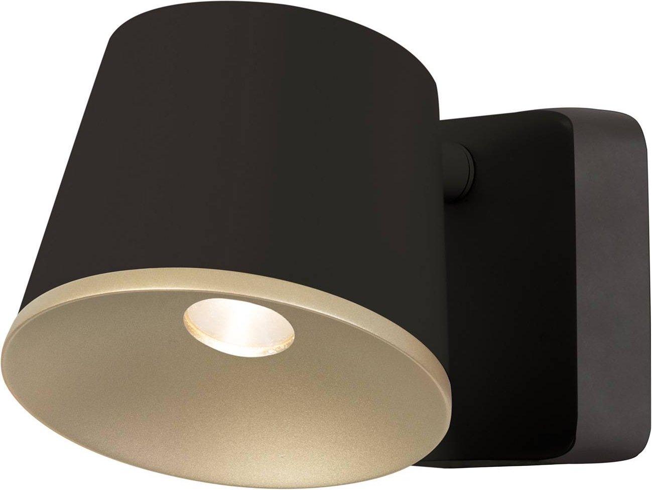 LEDS C4 Drone LED wall light adjustable  brown