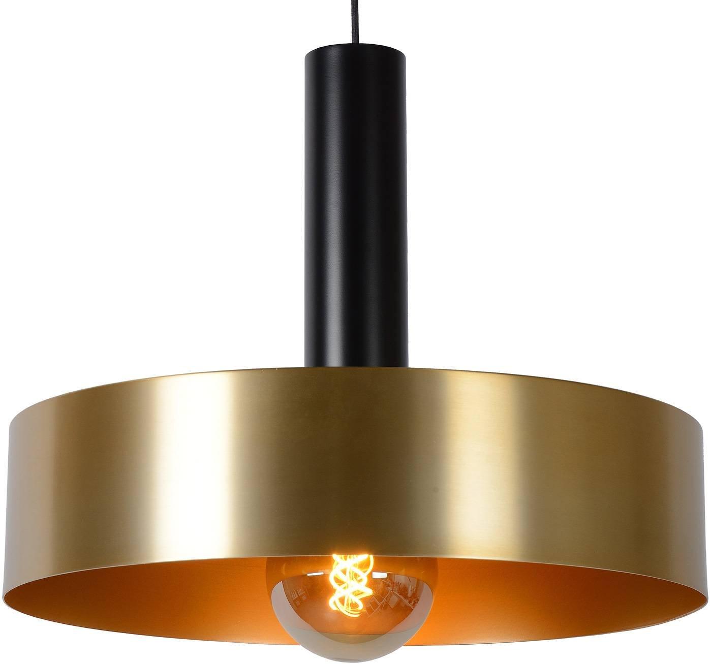 Giada hanging light  black  gold    50 cm
