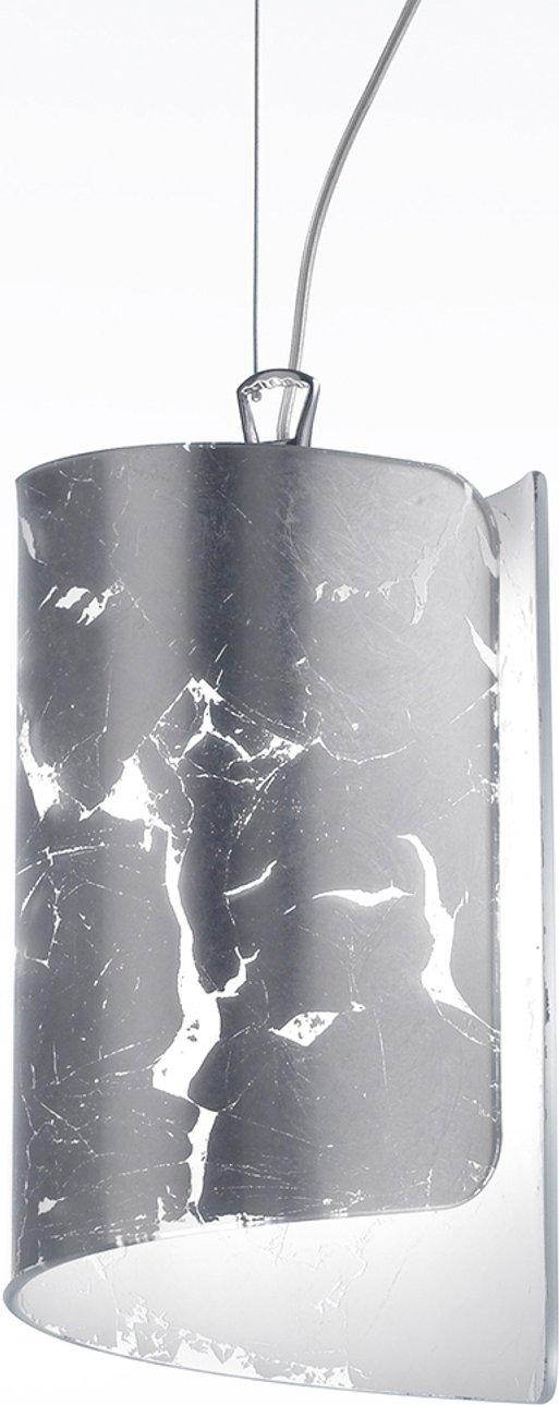 Attractive hanging light Papiro silver