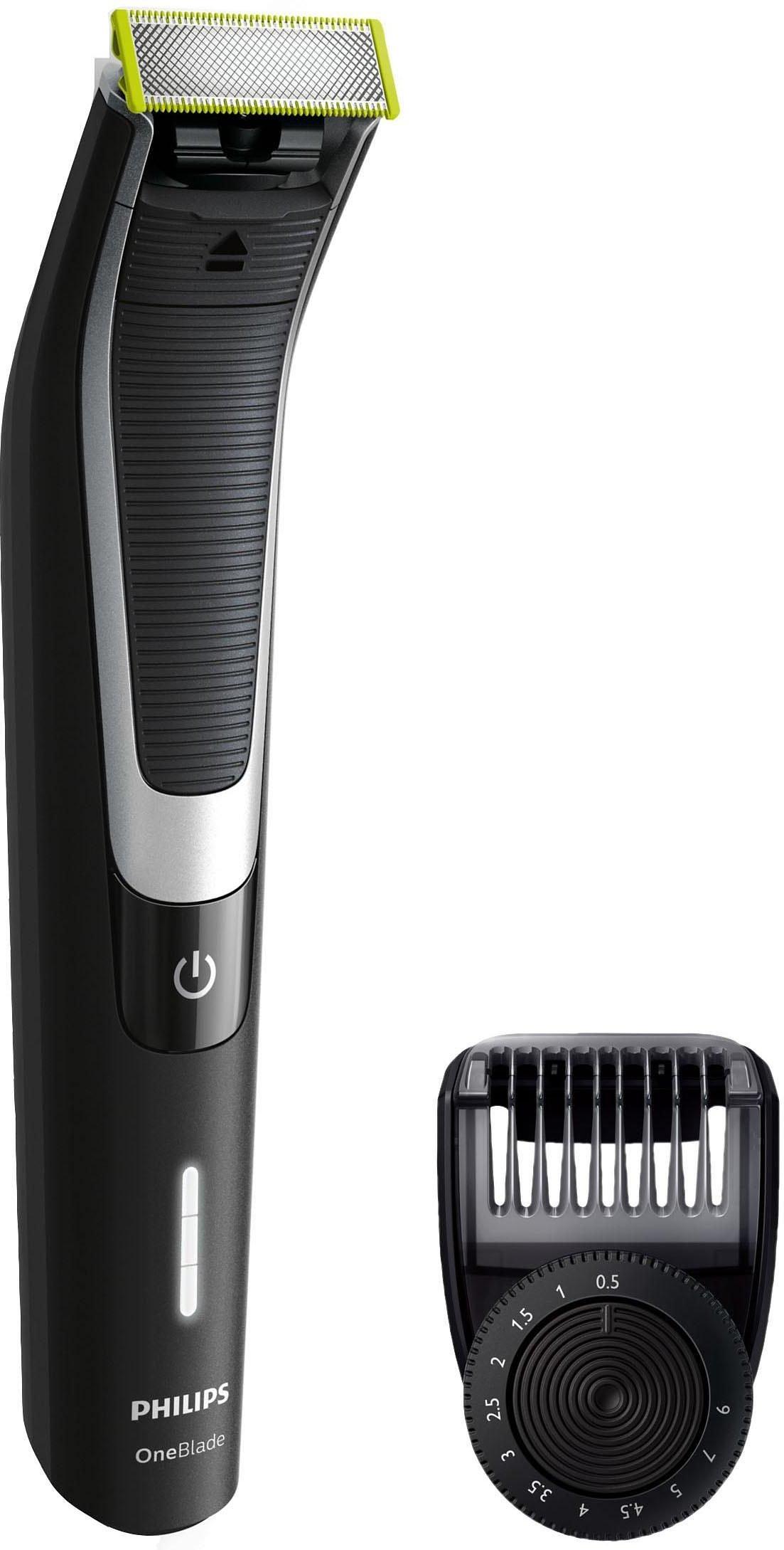 Philips Elektrorasierer OneBlade Pro QP6510/30 Anzahl Aufsätze: 1 SmartClick-Präzisionstrimmer