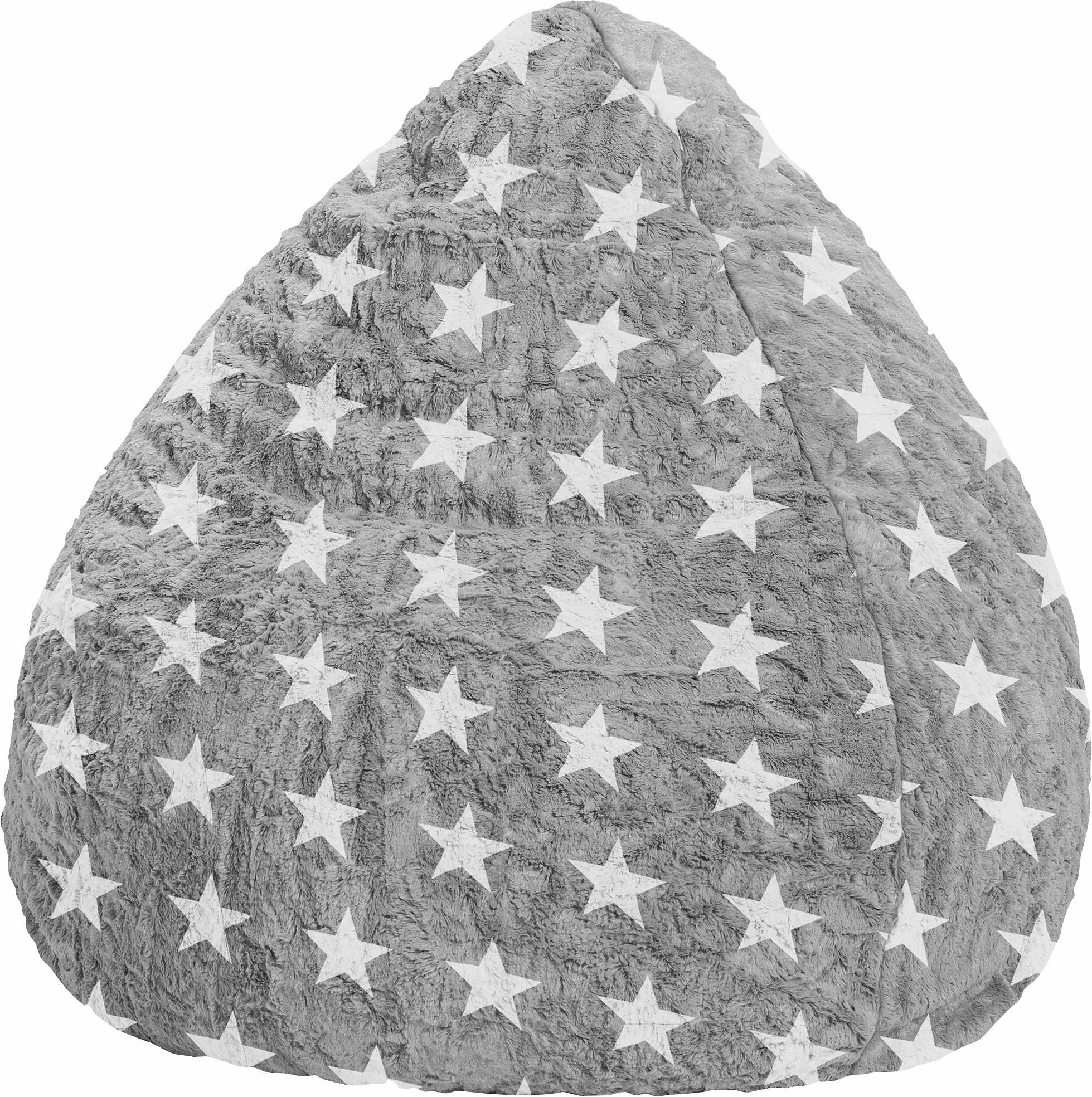 Sitting Point Sitzsack Fluffy Stars XL