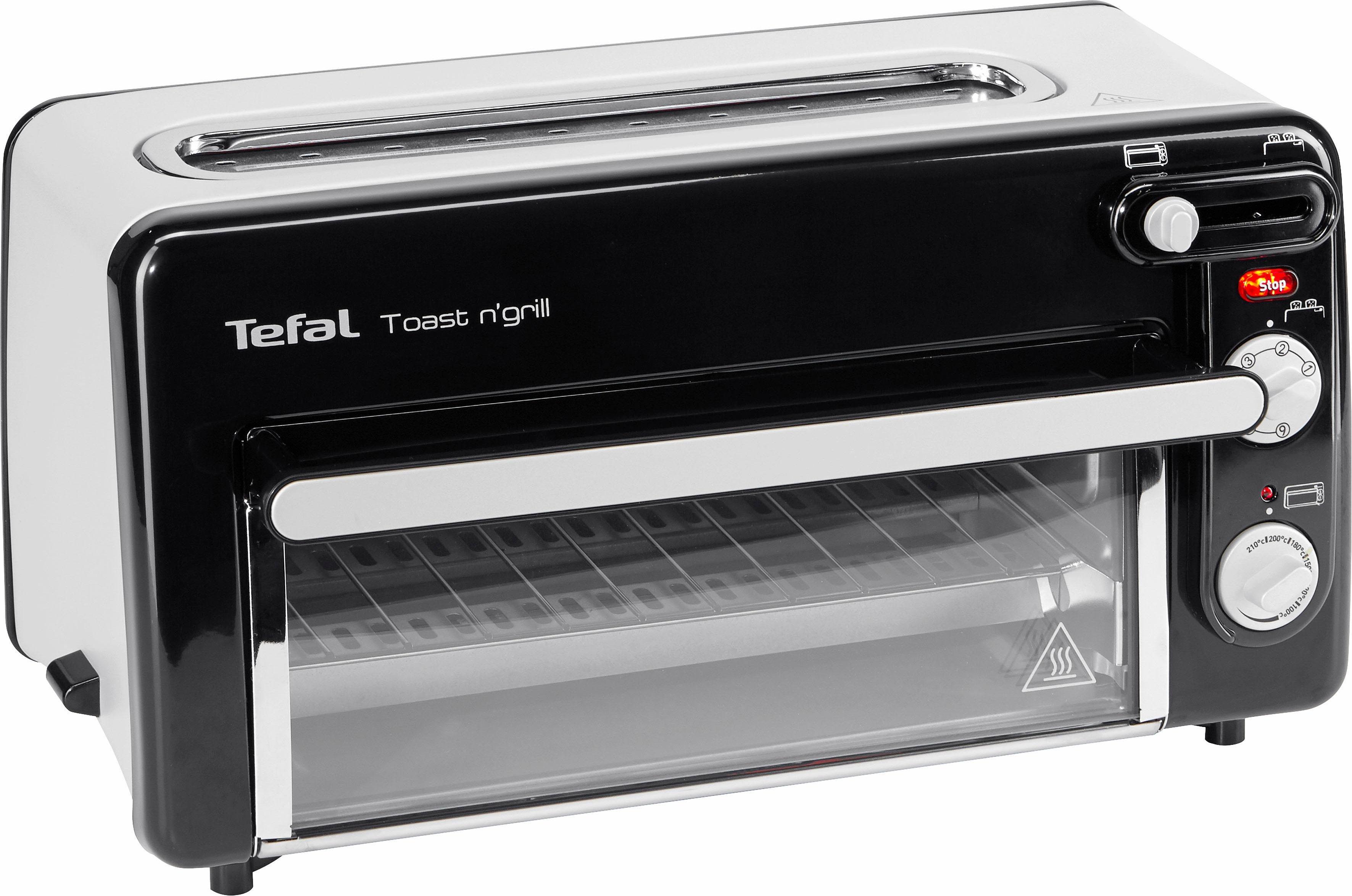 Tefal 2-in-1-Toaster Toast n' Grill und Mini-Ofen 1300 Watt