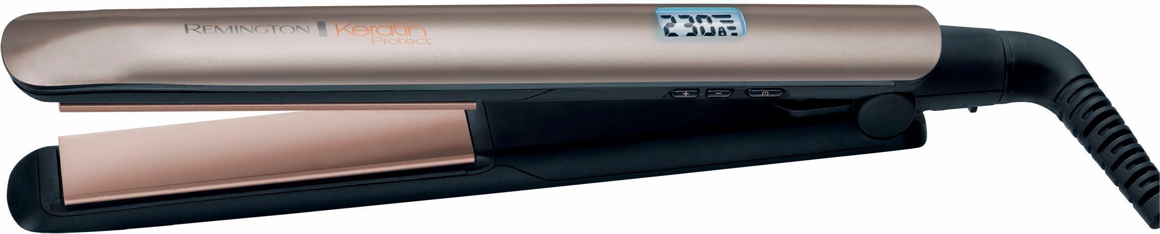 Remington Glätteisen S8540 Keramik-Beschichtung mit Keratin und Mandelöl