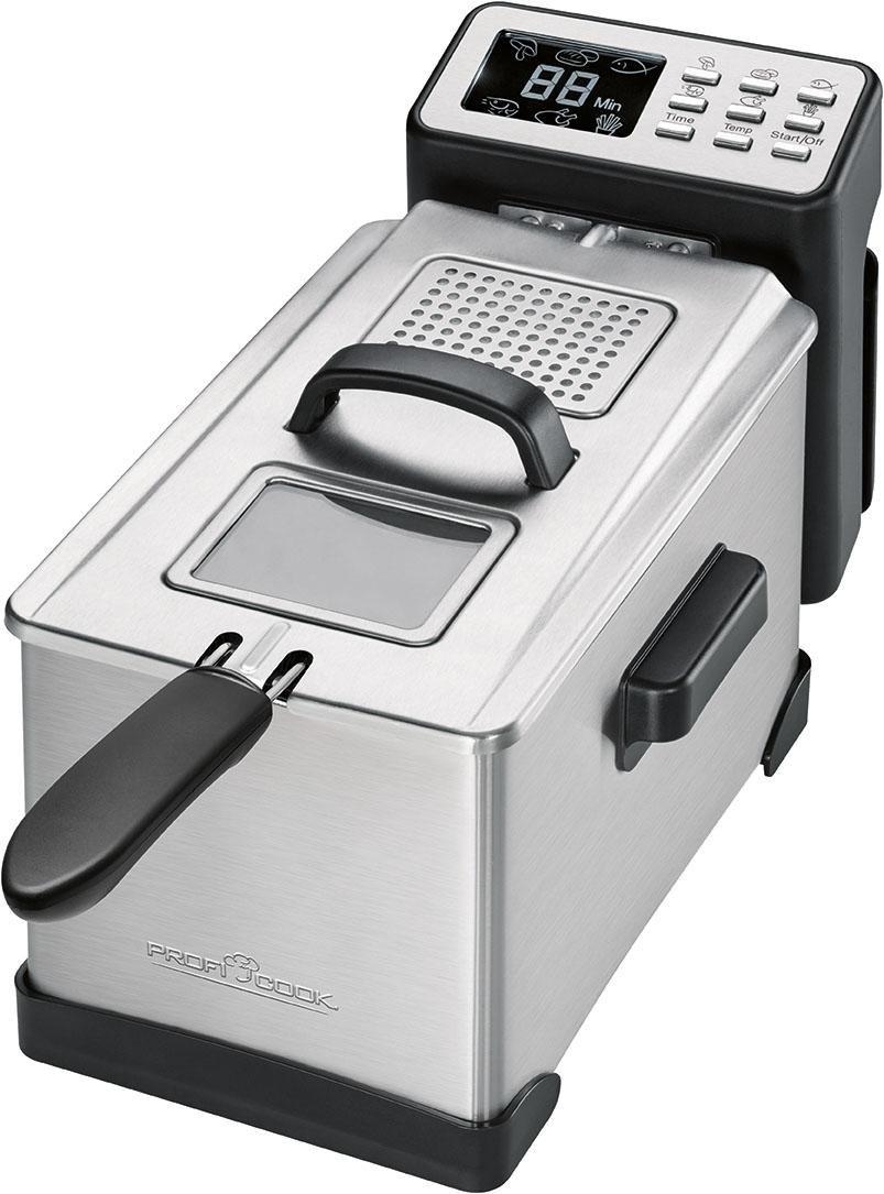 ProfiCook Fritteuse PC-FR 1087 2000 Watt Fassungsvermögen 3 Liter