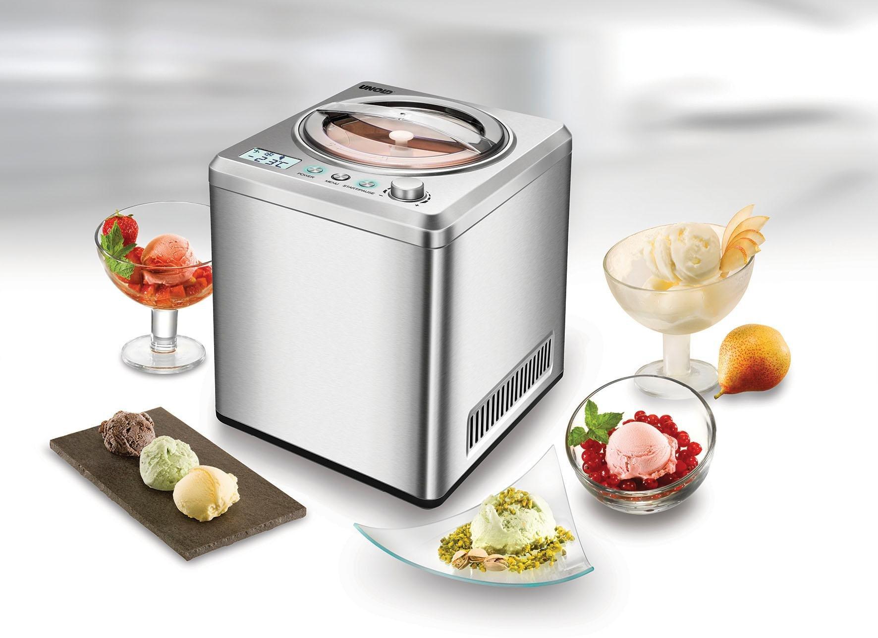 Unold Eismaschine Exclusiv 48872 2 Liter 180 Watt