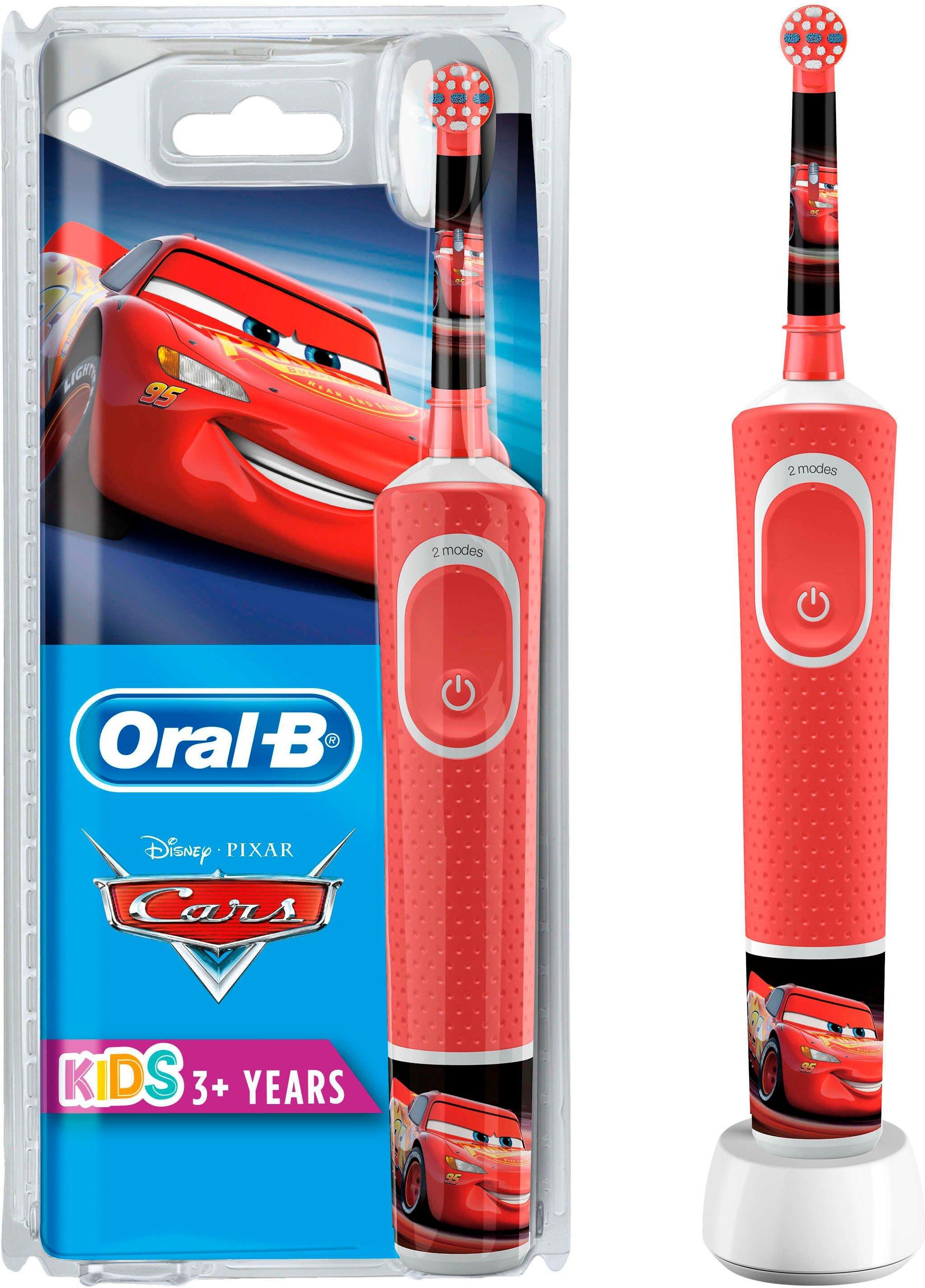 Oral B Elektrische Kinderzahnbürste Cars Aufsteckbürsten: 1 Stk