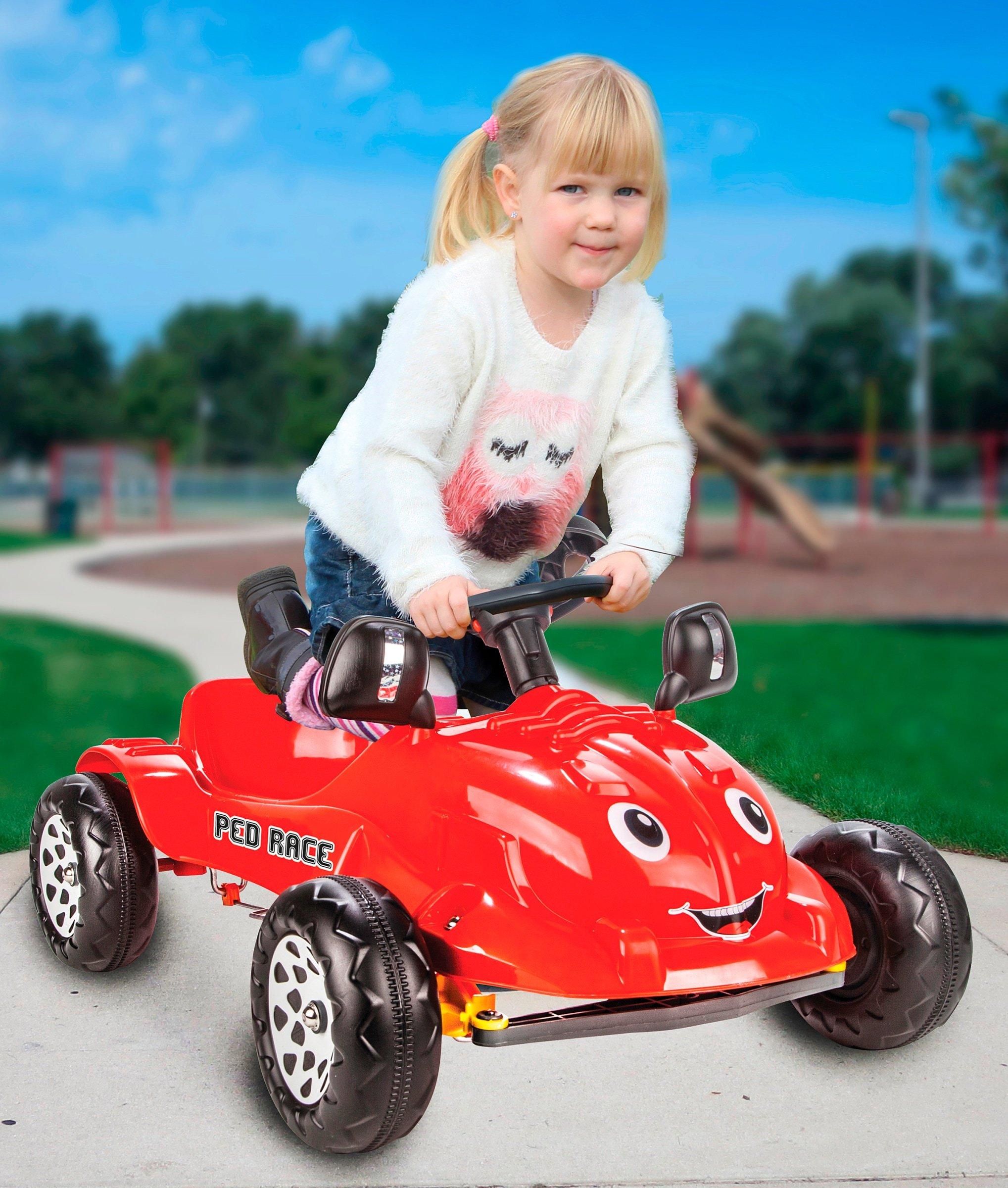JAMARA Rutschauto Ped Race für Kinder ab 2 Jahre