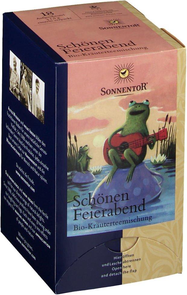 SonnentoR® Schönen Feierabend Kräutertee bio