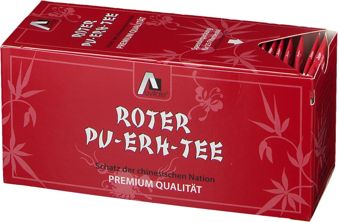 Avitale Roter Pu-Erh-Filtertee
