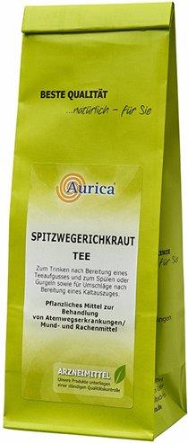 Aurica® Spitzwegerichkraut Tee